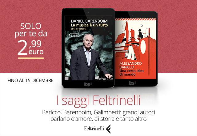 I saggi Feltrinelli a partire da 2,99 euro