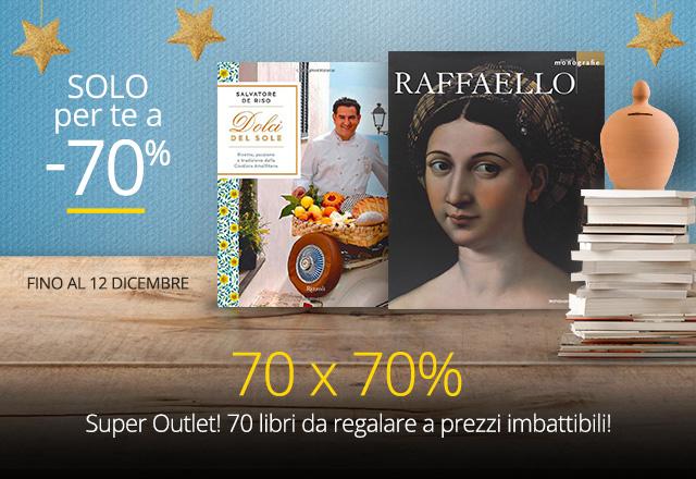 70 Outlet libri -70%
