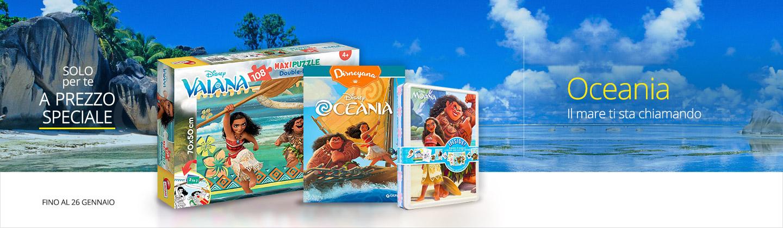 Oceania Libri giochi