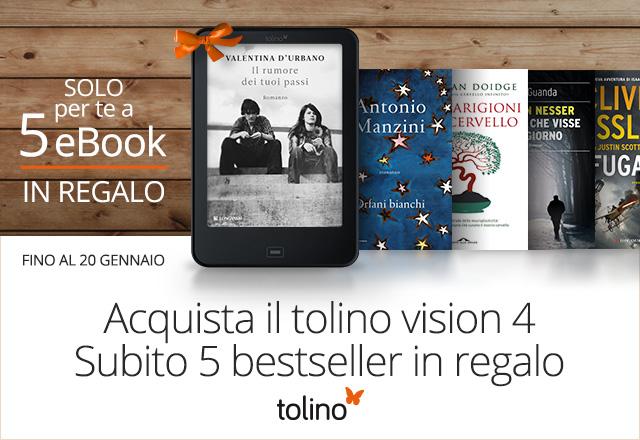 tolino vision 4 HD con 5 eBook