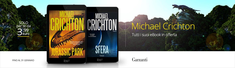 Michael Crichton: tutti gli eBook a 3,99 euro