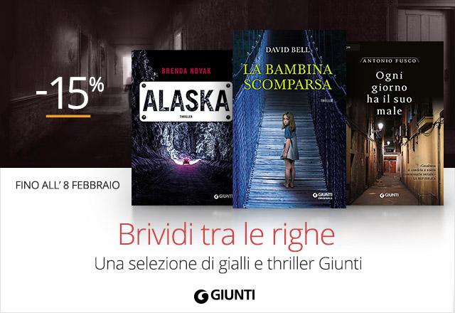 Gialli e thriller Giunti -15%