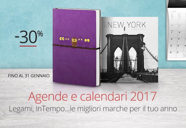 Agende e calendari -30%