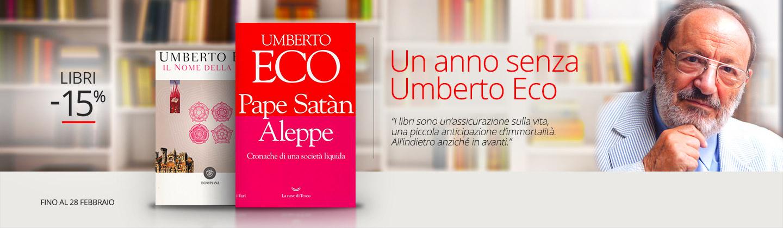 Un anno senza Umberto Eco