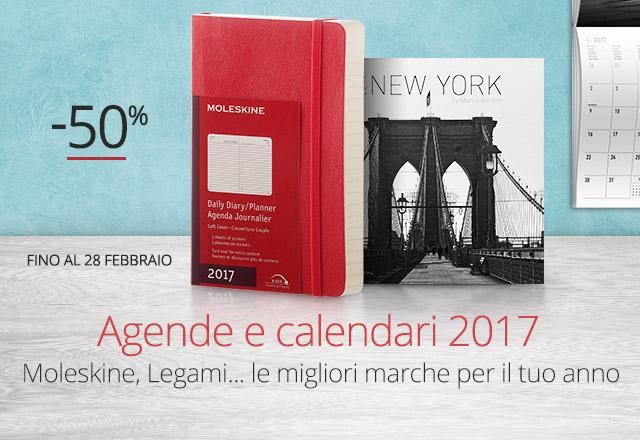 Agende e calendari -50%