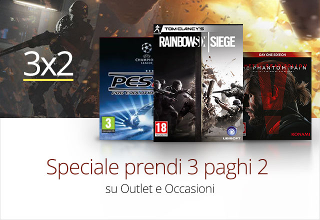 3x2 Occasioni-Outlet