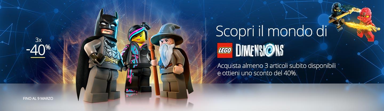 Lego Dimensions 3x40%