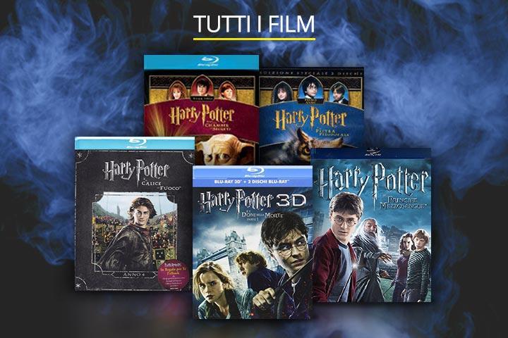 Tutti i film di Harry Potter