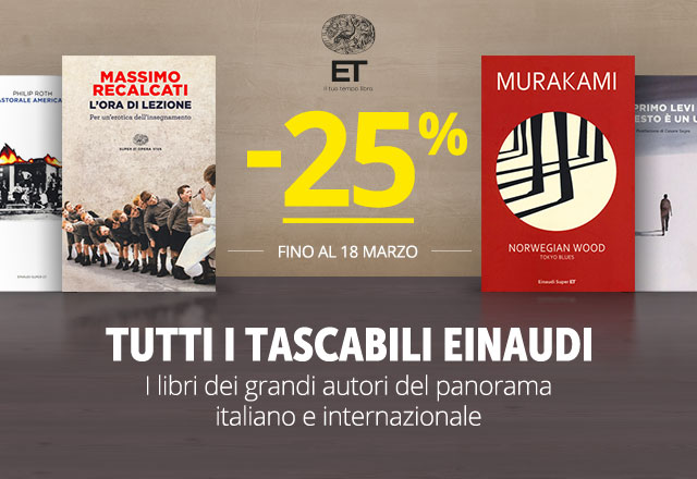 Einaudi Tascabili -25%