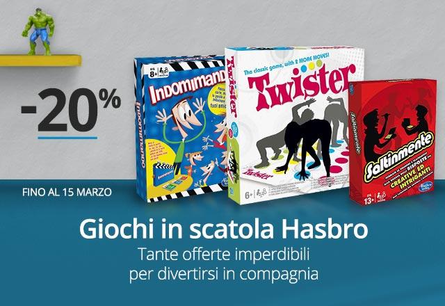 Hasbro -20%