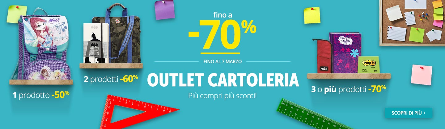 Outlet fino -70%