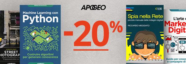 Apogeo -20%