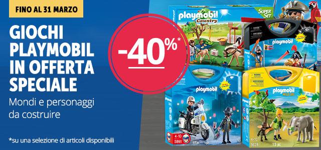Playmobile -40% mobile