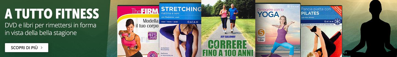Fitness: libri e dvd