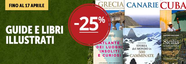 Guide e libri illustrati -25%