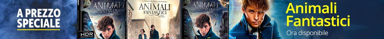 Prenota il film animali fantastici