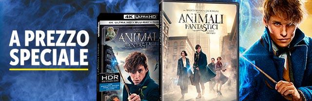 Prenota il film: Animali Fantastici e dove trovarli