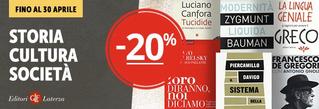 Libri Laterza -20%