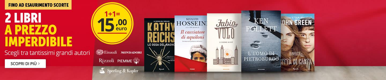 2 libri a 15 euro