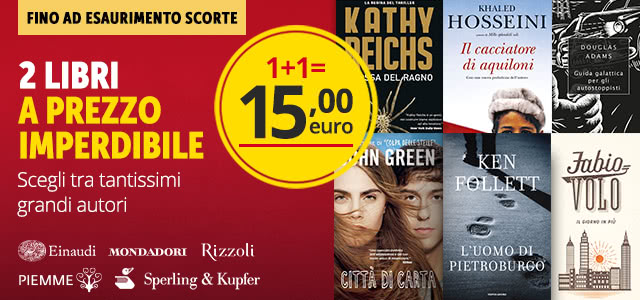 2 libri 15 euro