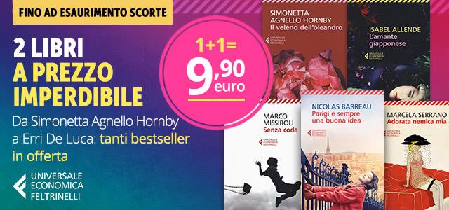 2 libri a 9,90 euro