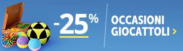 Occasioni -25% Giochi