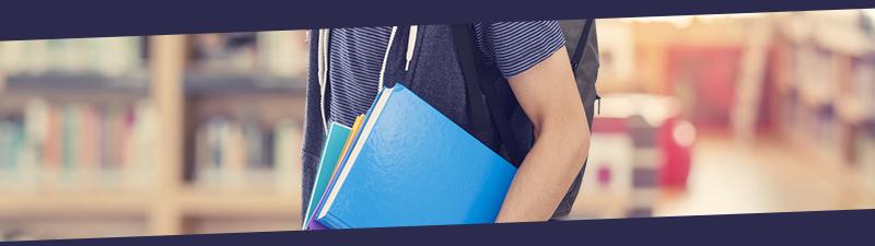 Libri per l'università fino a 15%