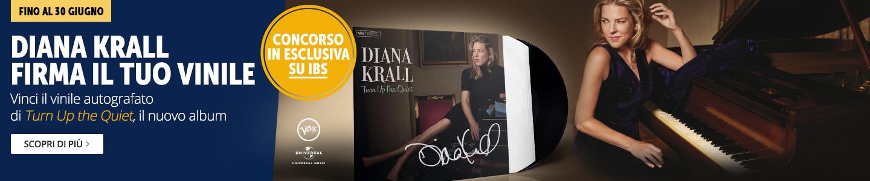 Diana Krall firma il tuo vinile