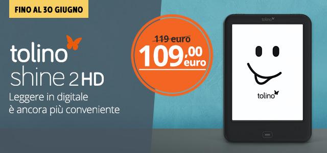 Tolino Shine 2 a 109 euro
