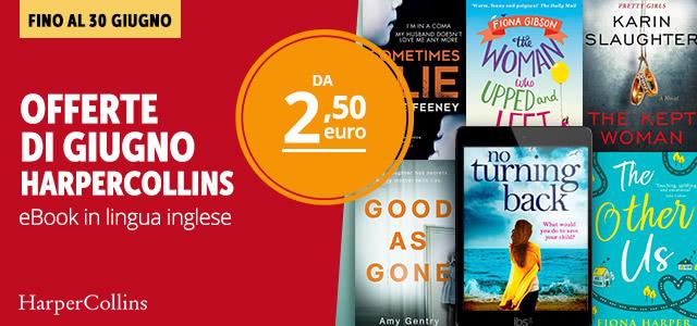 Offerte HarperCollins Giugno