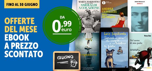 Ebook in offerta a Giugno
