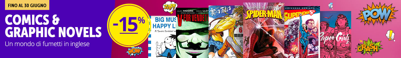 Comics & Graphic Novels -15%