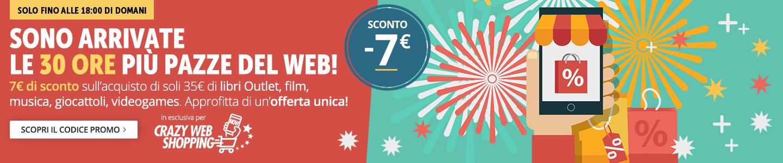 7 euro di sconto per te