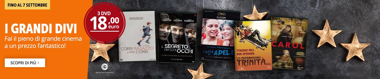 3 DVD a 18€