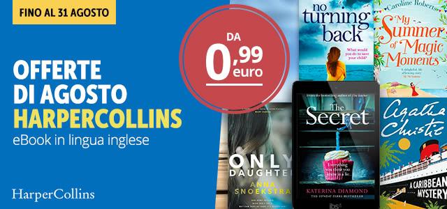 HarperCollins da 0,99 euro
