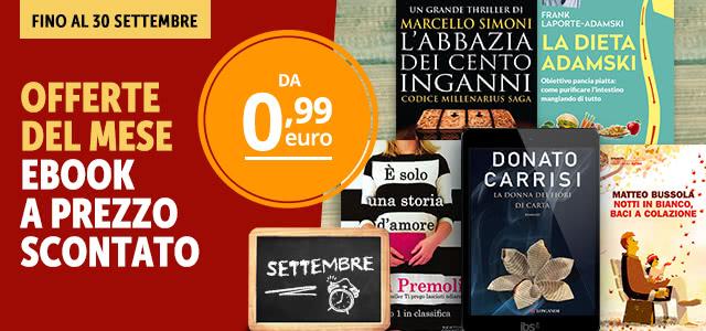 Le offerte di settembre