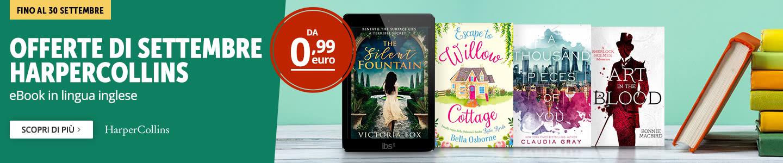 Offerte HarperCollins da 0,99 euro