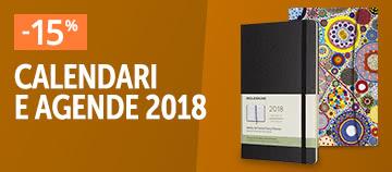 Agende e calendari 2018