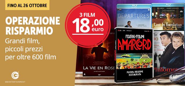 3 film a 18 euro