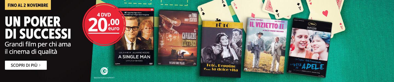 4 DVD a 20 €