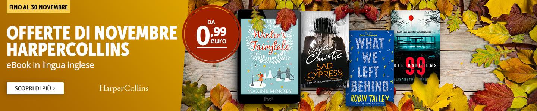 Offerte HarperCollins Novembre