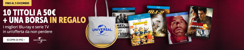 10 Blu-ray o serie TV a 50€!