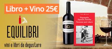 Cofanetto libro+vino a 25 euro