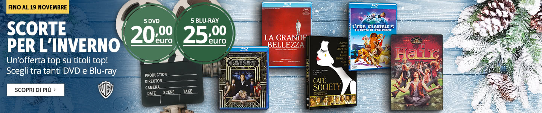 5 Blu-ray x 25€