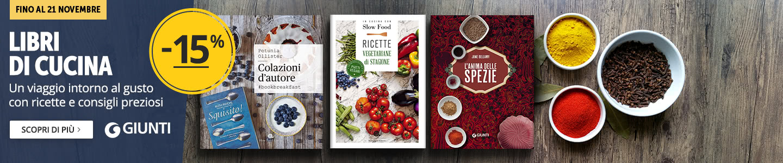 Libri di cucina Giunti