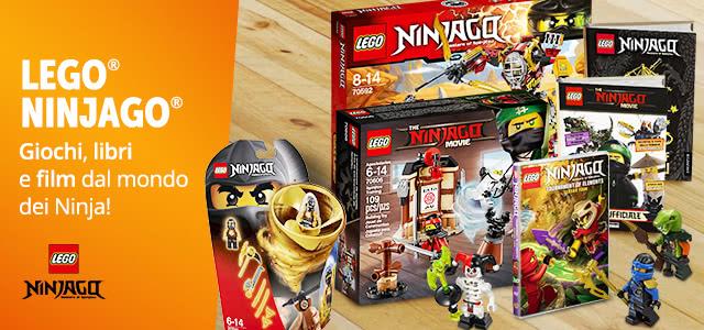 Lego Ninjago fino a-30%