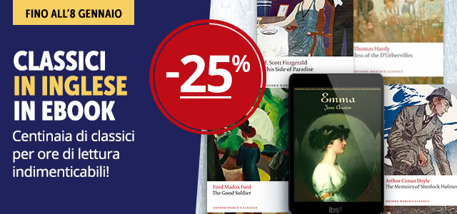 Classici eBook in inglese -25%