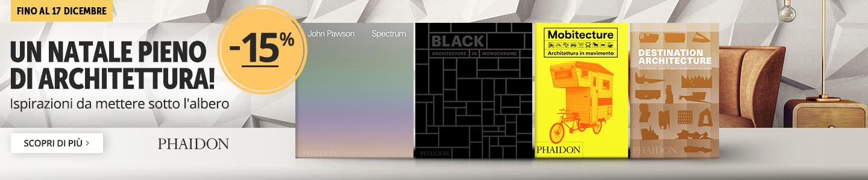Libri di architettura Phaidon -15%