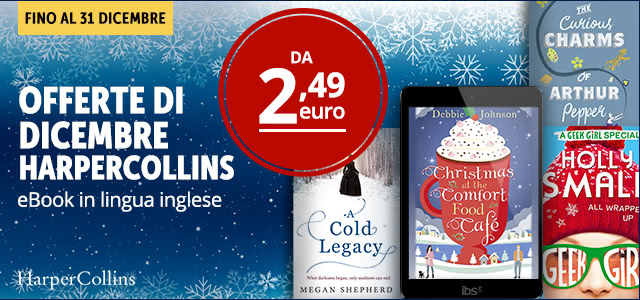HarperCollins offerta dicembre