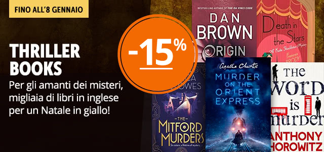Thriller Books -15%